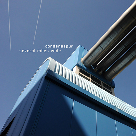 Condensspur - Several miles wide