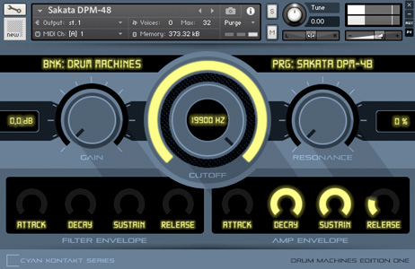 Sounddesign and Samples - Kontakt Drum Machine Edition One